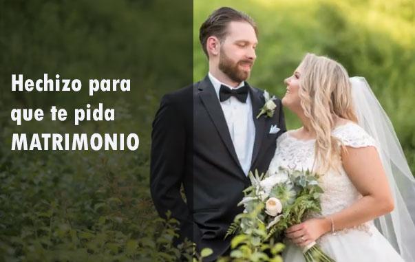 Hechizo de matrimonio y compromiso