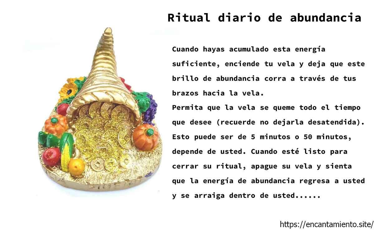 Ritual diario de abundancia