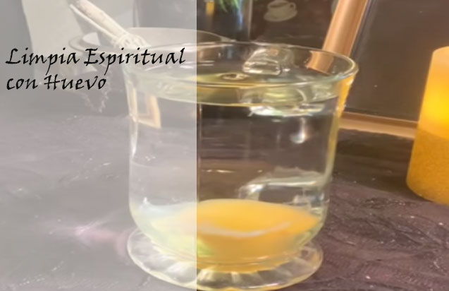 limpieza de aura con huevo