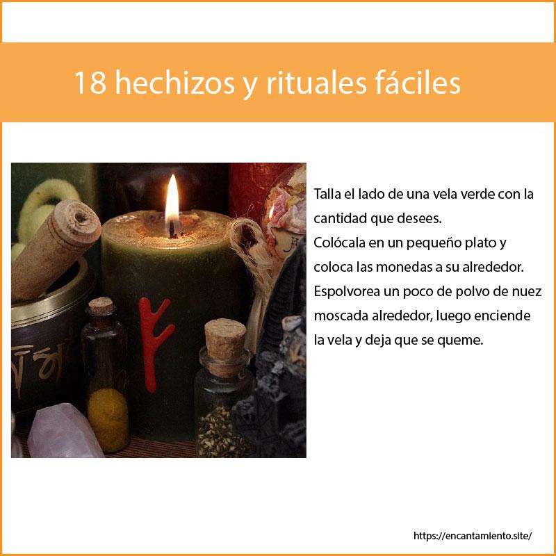 18 hechizos y rituales fáciles