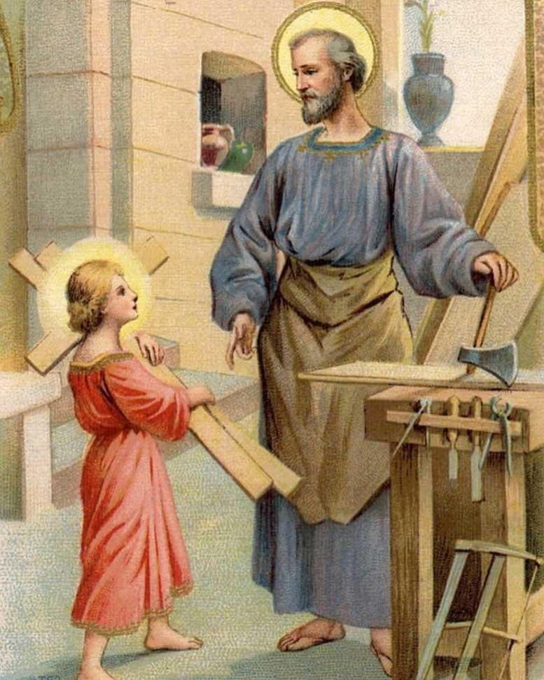 Jesús y San José
