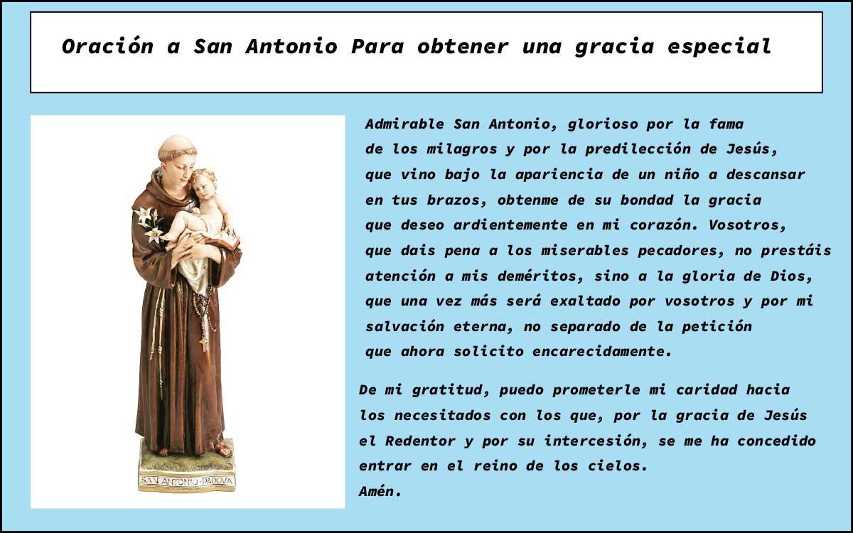 Oración a San Antonio