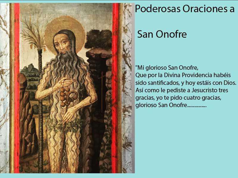 Poderosas Oraciones a San Onofre