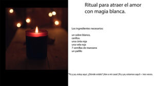 Ritual para atraer el amor con magia blanca.