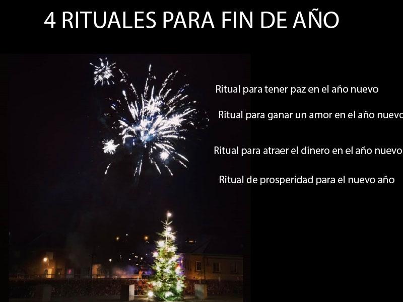 4 Rituales para Año Nuevo