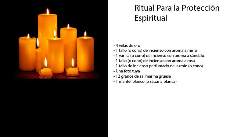 Ritual para la protección espiritual