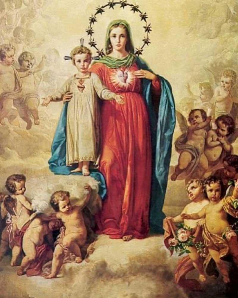 2 oraciones milagrosas a Jesús y María