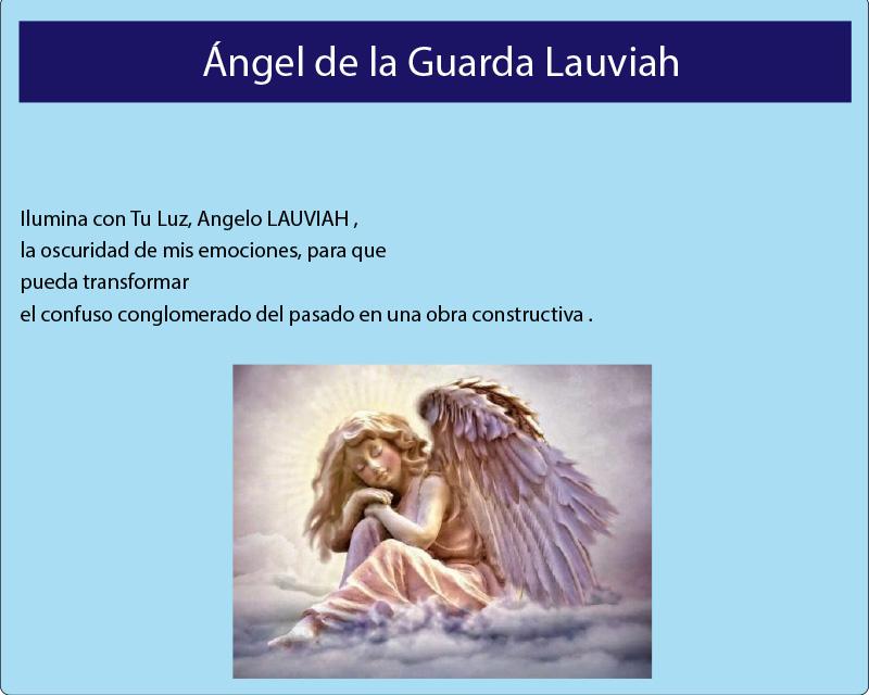 El Ángel de la Guarda Lauviah
