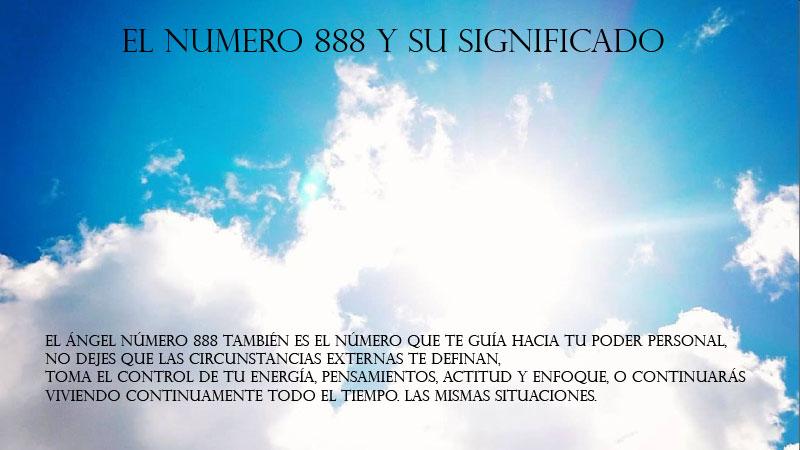 El Numero 888 y su significado